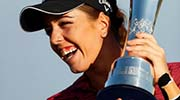 Georgia Hall: Women's British Open winner wants to inspire young girls to take up golf