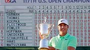 US Open 2017: Brooks Koepka wins at Erin Hills to claim first major